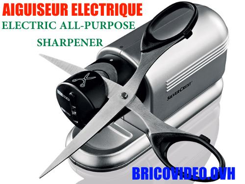 Silvercrest Electric All-Purpose Sharpener lidl accessories test advice customer reviews price instruction manual technical data