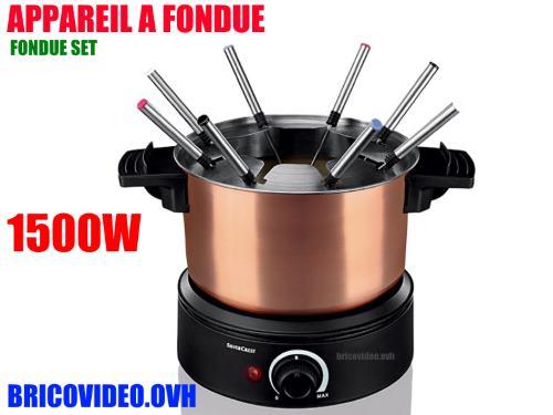 notice appareil a fondue silvercrest sfe 1500w lidl mode d 39 emploi pdf. Black Bedroom Furniture Sets. Home Design Ideas