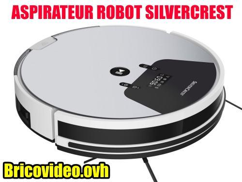 aspirateur-robot-LIDL-SILVERCREST-SSRA1-vacuum-cleaner-saugroboter-test-avis-notice