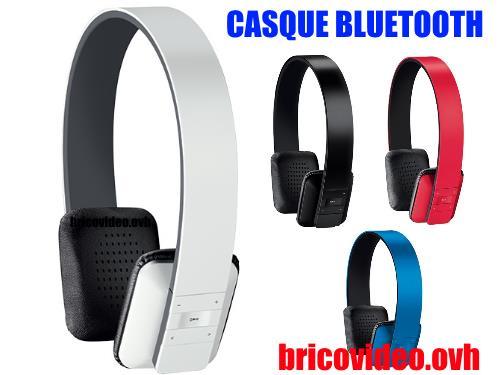Casque audio bluetooth lidl silvercrest SBTH