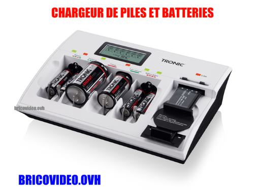 chargeur batterie tronic