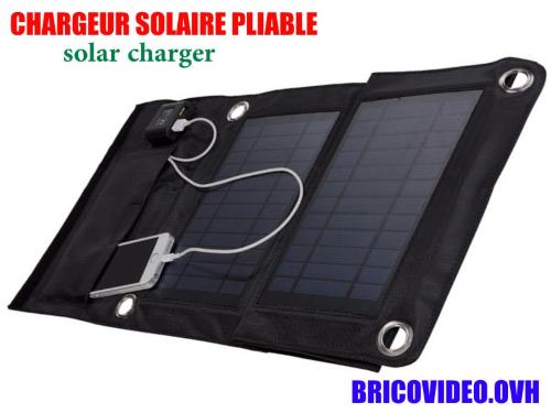 chargeur solaire lidl