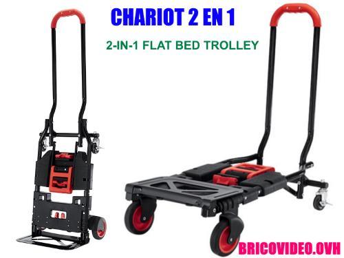 Chariot De Transport 2 En 1 Lidl Powerfix Pts 2 A1 Pour Transporter Des Charges Accessoires Test Avis Prix Notice Caracteristiques Et Forum