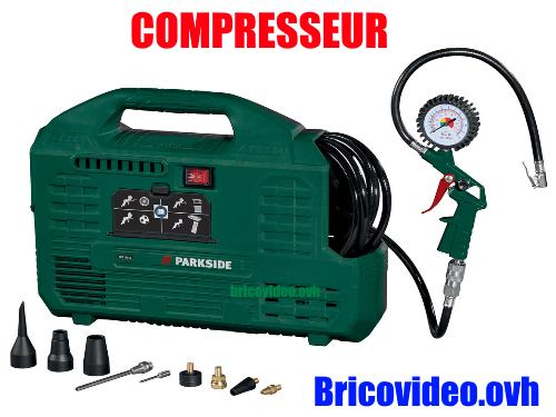 Parkside 24l air compressor lidl pko 270 b2 accessories test advice customer reviews price - Compresseur portatif lidl ...