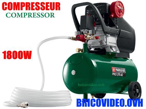 compresseur parkside pko 400 b2 lidl 400 litres 2600 watts compresseur. Black Bedroom Furniture Sets. Home Design Ideas