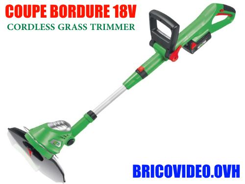 Coupe bordures lidl florabest fgs 3 6 b2 taille haies test for Coupe bordure taille haie sans fil