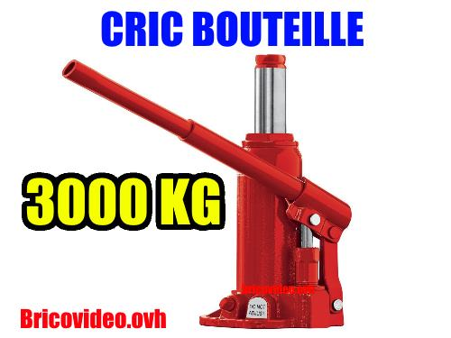 Cric Hydraulique Bouteille Lidl Ultimate Speed 3t