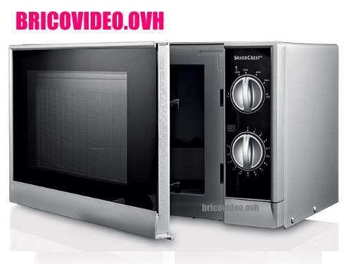 four-a-micro-ondes-lidl-silvercrest-smw-700-test-avis-prix-notice-caracteristiques