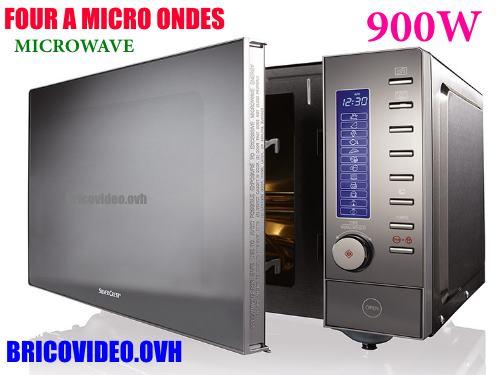 four-a-micro-ondes-silvercrest-lidl-smw-900-eds-lidl-accessoires-test-avis-prix-notice-caracteristiques-forum