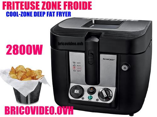 friteuse-a-zone-froide-lidl-silvercrest-skf-2800w-accessoires-test-avis-prix-notice-caracteristiques