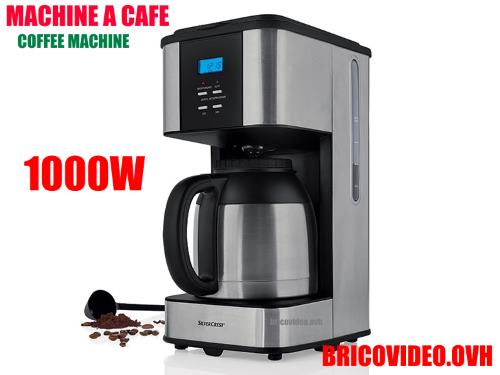 Avis Machine A Cafe Silver Crest