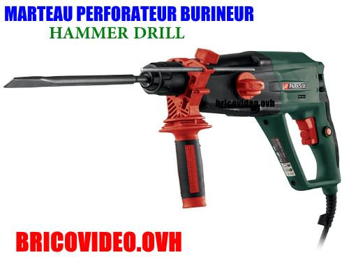 /marteau-perforateur-burineur-a-percussion-parkside-pbh-1050-a1-hammer-drill-lidl