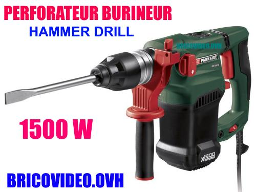 Parkside hammer drill lidl pbh 1050w b2 test advice for Lidl parkside italia