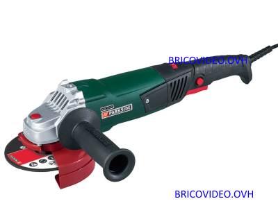 Meuleuse d 39 angle pneumatique parkside lidl pdws 125 a1 air comprim accessoires test avis prix - Meuleuse d angle lidl ...