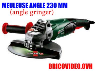 Meuleuse d 39 angle parkside pws 125 a1 lidl test avis prix prsentation - Meuleuse d angle lidl ...