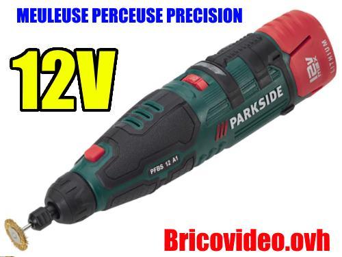 Meuleuse Perceuse De Precision Lidl Parkside 12v Pfbs Accessoires
