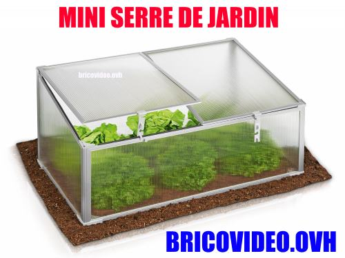 notice mini serre de jardin lidl florabest aluminium mode. Black Bedroom Furniture Sets. Home Design Ideas
