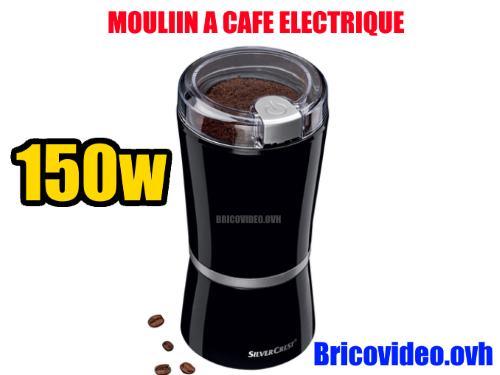 moulin a cafe electrique lidl silvercrest 150 w test avis. Black Bedroom Furniture Sets. Home Design Ideas