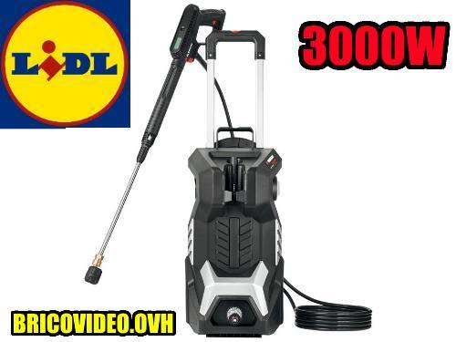 (fiche) nettoyeur haute pression PARKSIDE PERFORMANCE 3000W