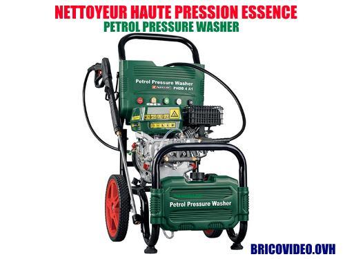 parkside petrol pressure washer lidl 180 bar 4 1 kw 3600 rpm accessories video manual. Black Bedroom Furniture Sets. Home Design Ideas