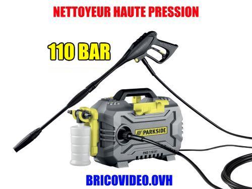 nettoyeur haute pression lidl parkside 150 bar 2100 w accessoires test avis prix