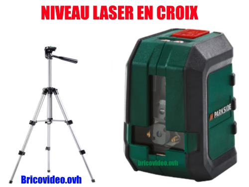 niveau laser en croix parkside pkll 7 a1 lidl test avis prix notice et caract ristiques. Black Bedroom Furniture Sets. Home Design Ideas