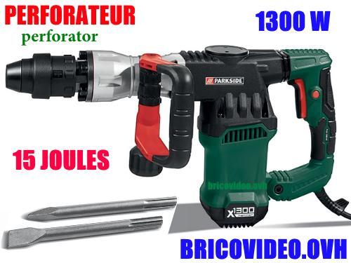 perforateur-parkside-lidl-1300w-15-joules-accessoires-test-avis-prix-notice-carcteristiques-forum
