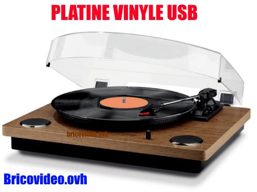 platine vinyle usb lidl tourne disque test avis notice. Black Bedroom Furniture Sets. Home Design Ideas