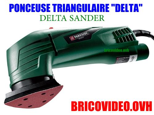 Ponceuse Triangulaire Parkside Lidl Pds 290 A1 Delta Test