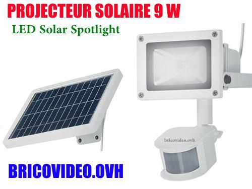 Projecteur Solaire Led 9w Livarno Lux Lss 520 Lidl