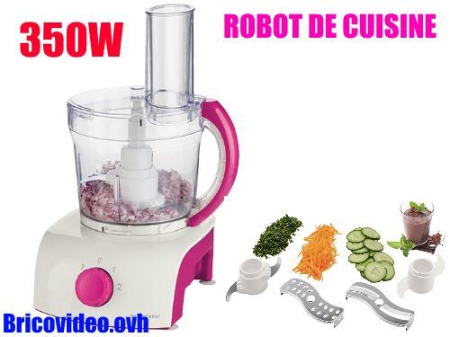 Robot multifonctions lidl silvercrest skm 550 b1 test avis - Silvercrest robot cuisine ...