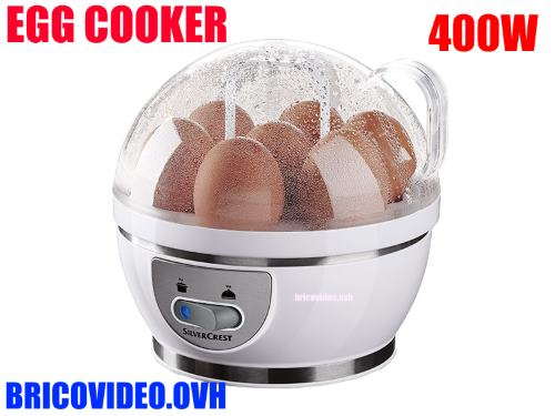 Silvercrest egg cooker lidl sek 400w accessories test advice customer reviews price instruction - Silvercrest home tech ...