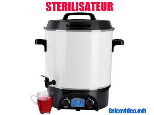 sterilisateur-lidl-silvercrest-bocaux-1800w-27l-100degres-test-avis-notice