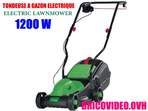 Florabest electric lawnmower FRM 1200 d3 lidl test advice customer reviews price instruction manual technical data