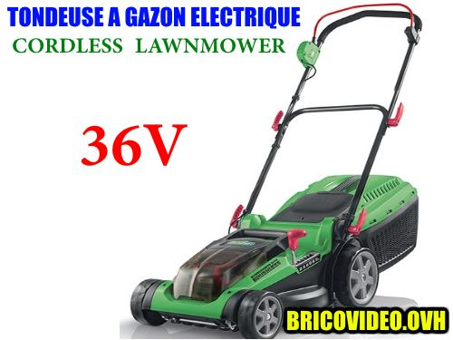 florabest cordless lawnmower frma 36 1 a1 lidl test advice. Black Bedroom Furniture Sets. Home Design Ideas