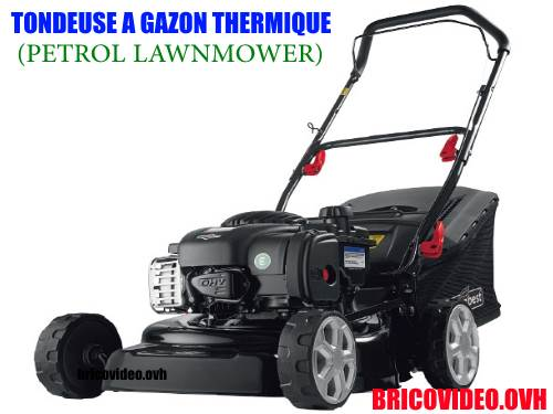 Petrol lawnmower florabest lidl FBM 450 a1 test advice customer reviews price instruction manual technical data for mowing lawns and grass aeras.
