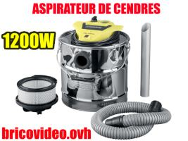 aspirateur de cendres 1200w - parkside - 39,99 €