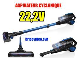 Aspirateur sans fil polyvalent 22,2v - Silvercrest - 79,99 €