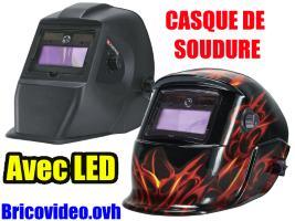 casque de soudage avec LED