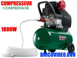 compresseur 1800w 24l - Parkside - 84,99 €
