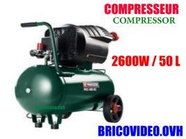 compresseur 400 L