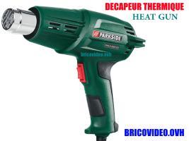 décapeur thermique 2000w