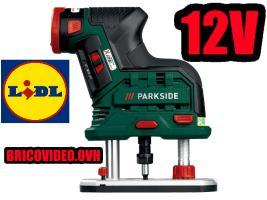 défonceuse 12V - Parkside - 59,99 €