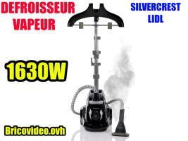 defroisseur vapeur vertical