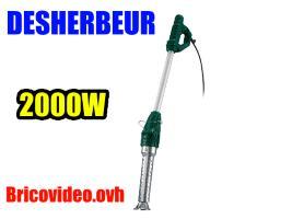 désherbeur thermique 2000w - Parkside - 24,99 €