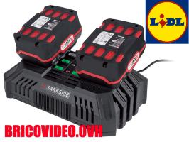 Double chargeur rapide 20v