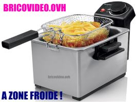friteuse zone froide