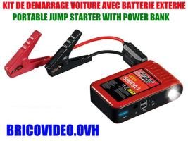 kit d'aide au démarrage 12000 mAh - Ultimate Speed - 54,99 €