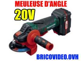 meuleuse angle 20V
