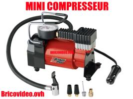 Mini-compresseur 12v - Ultimate speed - 17,99 €